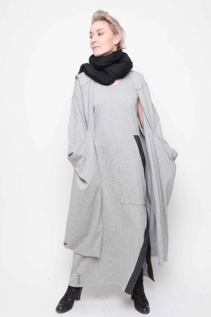 Dress Jolly knitted tweed grey