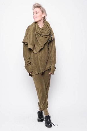 Top Influence towel cotton olive