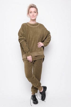 Top Insight towel cotton olive