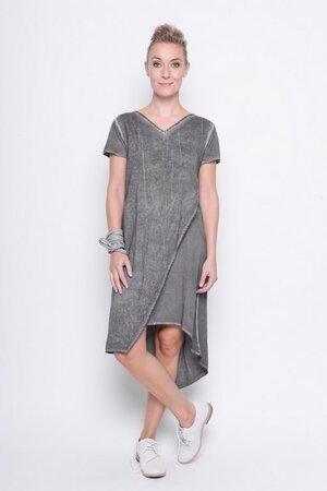 Skirt Out of control modal jersey cold dye grey