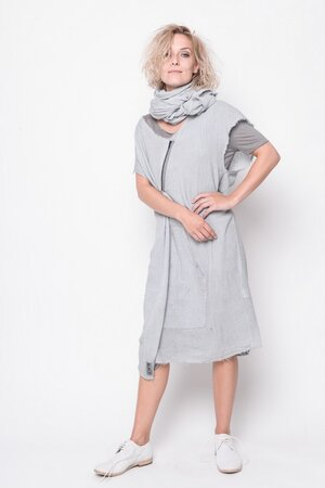 Tunic Generation thin cotton grey