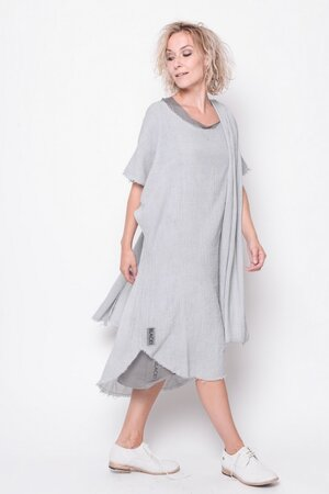 Tunic Wonder thin cotton grey