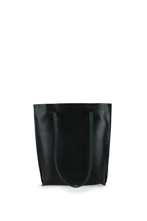 phlomn-shopper-vegetable-tanned-black-front-handle