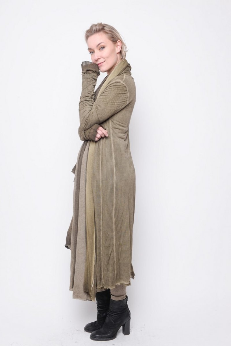 Cardi Legendary stripe gaze olive