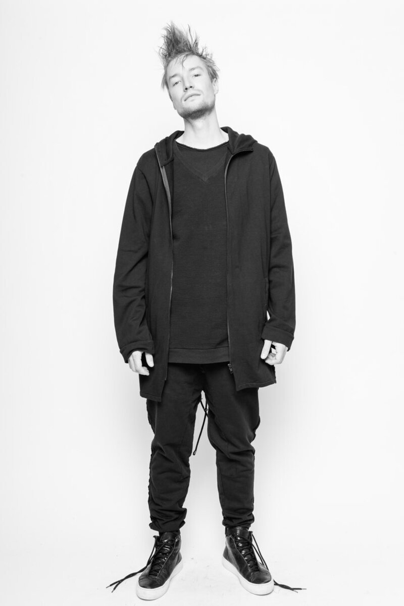 Parka Doyourownthing black cotton